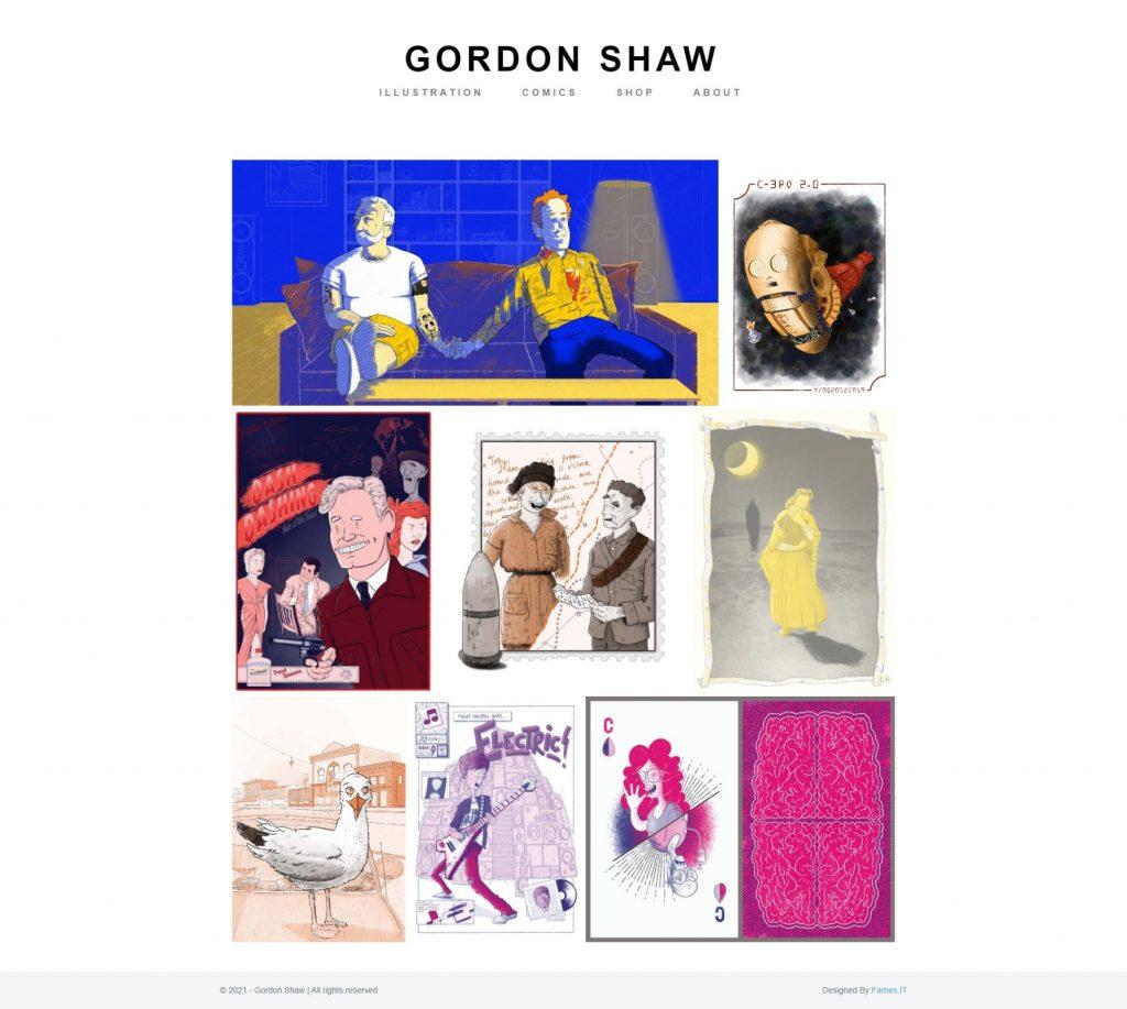 Gordon Shaw Website
