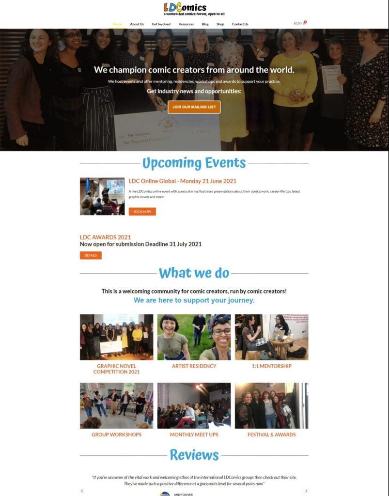 LDComics Website