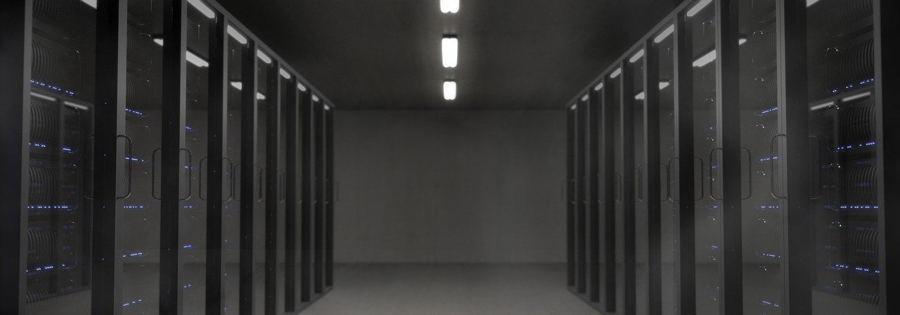 Servers in a datecenter